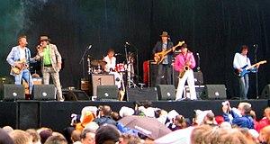 Normaal - Normaal in concert at Parkpop in 2006