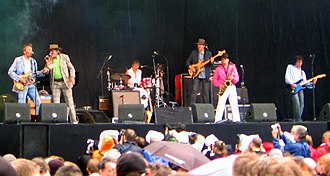 Normaal - Normaal in concert at Parkpop in 2006