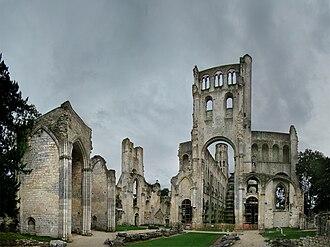 Jumièges Abbey - Jumièges Abbey ruins