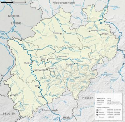 Seen In Norddeutschland Karte.Liste Der Seen In Nordrhein Westfalen Wikipedia
