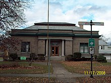 North Tonawanda Carnegie Library Nov 08.JPG