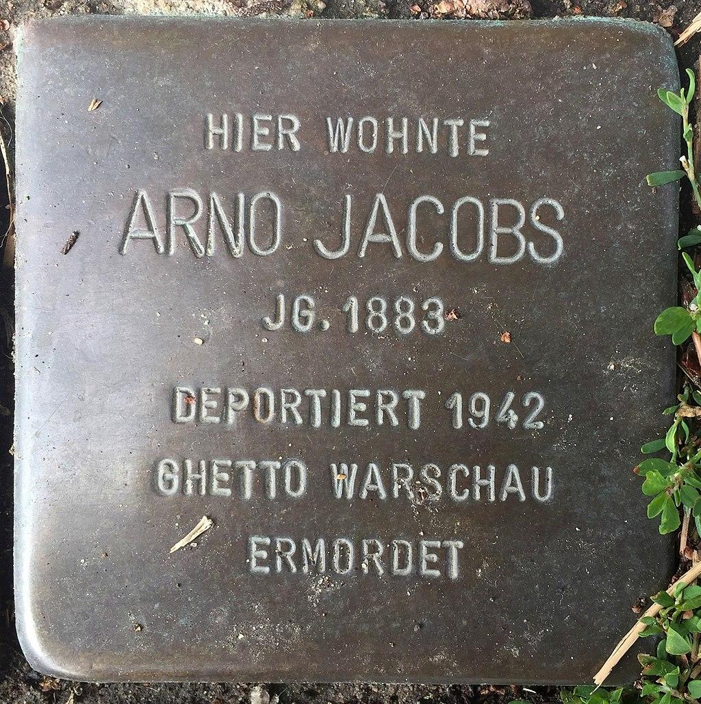 Northeim Stolperstein Arno Jacobs.jpg
