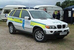 Northern Constabulary -  Northern Constabulary vehicle