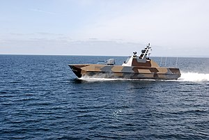 Skjold-class corvette - Royal Norwegian Navy corvette Storm.
