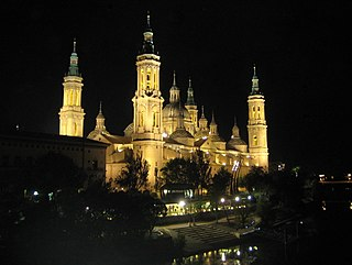 Cathedral-Basilica of Our Lady of the Pillar Co-cathedral and minor basilica of the Roman Catholic Church in Zaragoza, Spain