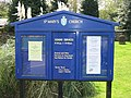 Notice board for St Mary's church - geograph.org.uk - 783193.jpg