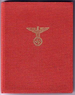 Nazi Party - NSDAP membership book