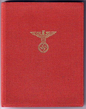 Nazi Party - NSDAP membership book