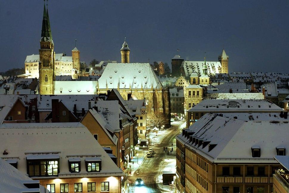 Nuremberg View Old Town