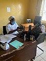 Nurse checking blood pressure in school clinic.jpg