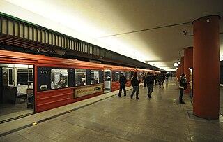 Nydalen metro station Oslo metro station