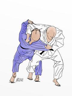 Osoto otoshi Judo technique