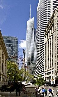 Bank of America Tower (Manhattan) Office skyscraper in Manhattan, New York