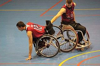 Francisco Sánchez Lara Spanish paralympic wheelchair basketball player