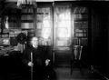 O sr. conselheiro José Luciano de Castro no seu gabinete de trabalho.png
