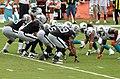 Oakland offensive line - Miami Dolphins vs Oakland Raiders 2012.jpg