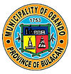 Official seal of Obando