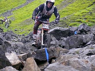 Dougie Lampkin - Lampkin winning 2013 Scott Trial