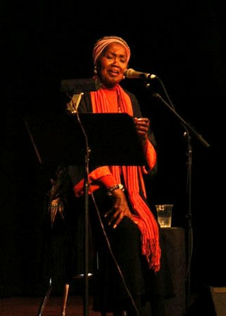 Contemporary folk music - Odetta performing in 2006