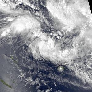 1979–80 South Pacific cyclone season - Image: Ofa Dec 10 1979 0355Z