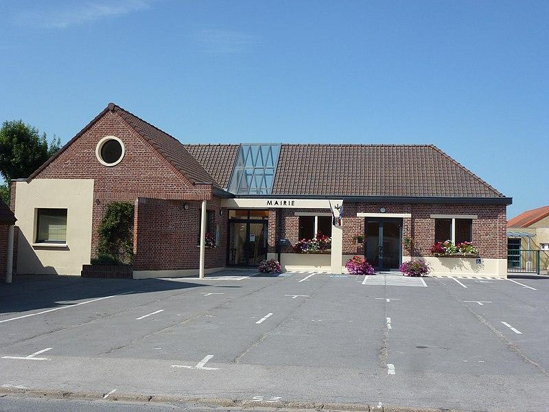 Offekerque (Pas-de-Calais) mairie