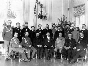 Counterintelligence - The Okhrana was founded in 1880 and was tasked with countering enemy espionage. St. Petersburg Okhrana group photo, 1905.