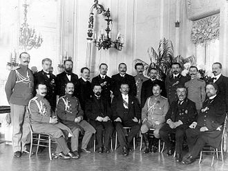 Counterintelligence - The Okhrana was founded in 1880 and was tasked with countering enemy espionage. St. Petersburg Okhrana group photo, 1905