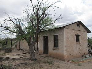Summit, Arizona - An old adobe ranch house in Summit.