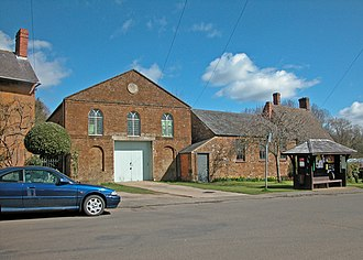 Adderbury - Former Independent chapel in Cross Hill Road