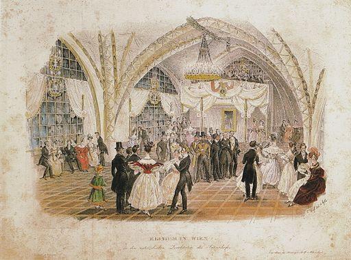 Old Elysium, Seitzerhof, Vienna, 1833