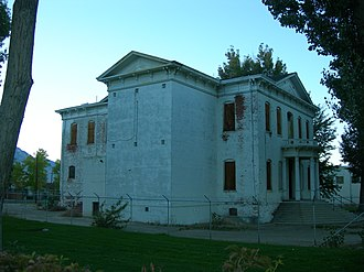 Mineral County, Nevada - Image: Old Esmeralda & Mineral County Court House