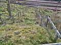 Old steps at car park, Rannoch station, West Highland Line, Perth & Kinross.jpg