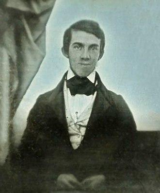 Oliver Wendell Holmes Sr. - Oliver Wendell Holmes in 1841