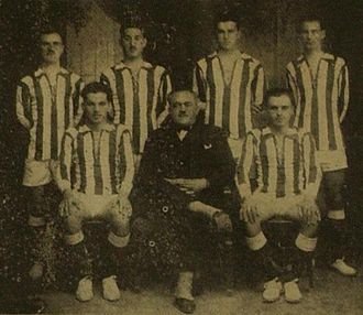 Olympiacos CFP (men's volleyball) - Olympiacos first volleyball team in 1926