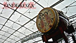 Ondekoza - 350 kg Odaiko drum used by Ondekoza