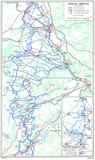 Battle of Remagen - Operation Lumberjack, 1–7 March 1945