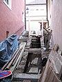 Oprava a archeologický výzkum schodů na Pražském hradě 01.JPG