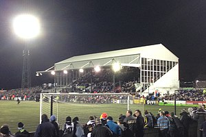 Oriel Park on Match Night