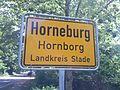Ortsschild von Hornborg, Landkreis Stood 3.jpg