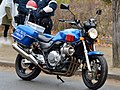 Osaka Prefectural Police Team Sky Blue Honda CB400 Super Four.jpg