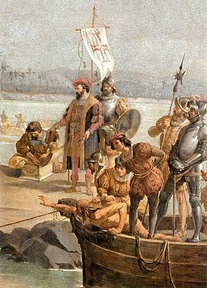 Immigration to Brazil - Arrival of the Portuguese to Northeast Brazil in 1500.