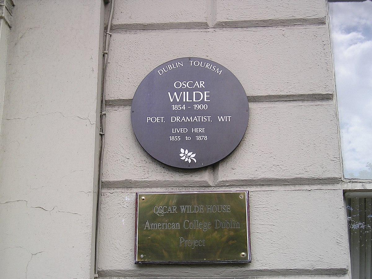 Studi Di Oscar Wilde Wikipedia