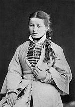 Ossetian girl 1883