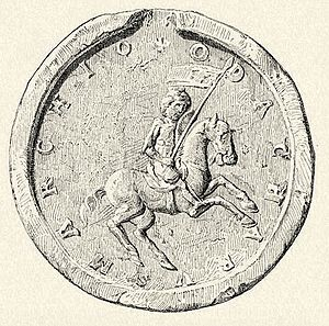 Ottokar IV, Duke of Styria - Seal of Ottokar IV