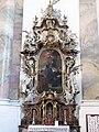 Ottobeuren Basilika Ottobeuren altar of st scholastica 01.JPG