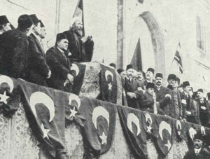 Ottoman entry into World War I - The Şeyhülislam declaring a Holy War against the Entente Powers