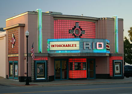 The Famous Rio Theatre in Overland Park Overland Theater.jpg