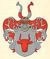 Oxehufwud - vapen (Adelskalendern 1913).jpg