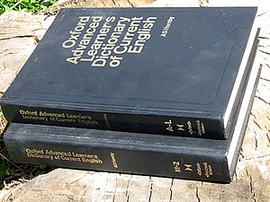 Oxford Advanced Learner's Dictionary - Oxford Advanced Learner's Dictionary of Current English, 1980.