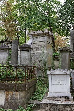 Jacques Antoine Rabaut-Pommier - Tomb of Rabaut-Pommier in the Père-Lachaise cemetery.